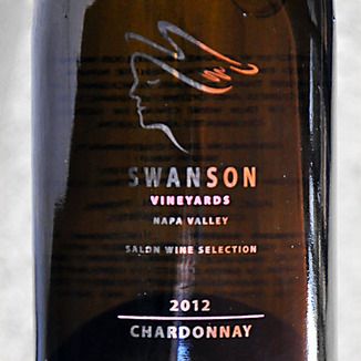 Swanson Vineyards 2012 Napa Valley Chardonnay 750ml Wine Label