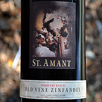 St. Amant Winery 2012 Mohr-Fry Ranch Old Vine Zinfandel 750ml Wine Label
