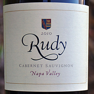 von Strasser Winery 2010 Rudy Napa Valley Cabernet Sauvignon 750ml Wine Label