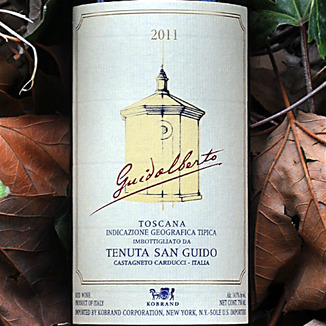 Tenuta San Guido 2011 Guidalberto Toscana IGT 750ml Wine Label