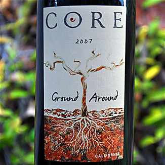 CORE Family Winery 2007 Ground Around California Red Wine 750ml Wine Label