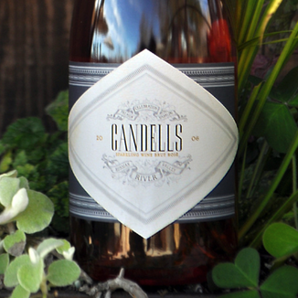 VML Winery 2006 Candells Sparkling Brut Rosé 750ml Wine Label