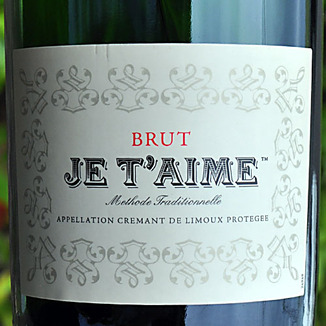 Je T'aime NV Methode Traditionnelle Brut Sparkling Wine 750ml Wine Label