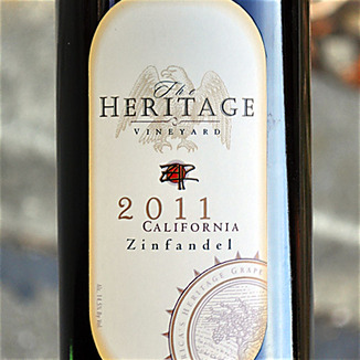 Zinfandel Advocates & Producers 2011 ZAP Heritage Vineyard California Zinfandel 750ml Wine Label