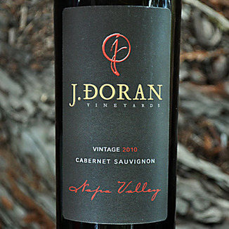 J. Doran Vineyards 2010 Napa Valley Cabernet Sauvignon 750ml Wine Label
