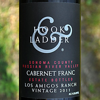 Hook & Ladder 2011 Russian River Valley Cabernet Franc 750ml Wine Label