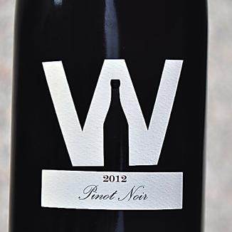 The Winery SF 2012 North Coast Pinot Noir 750ml Wine Label