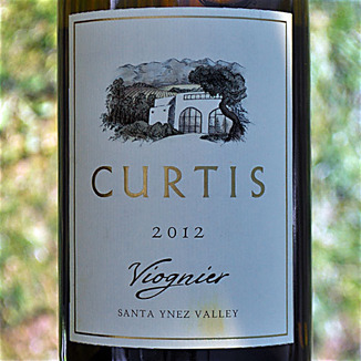 Curtis Winery 2012 Santa Ynez Valley Estate Viognier 750ml Wine Label
