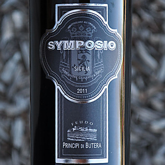 Feudo Principi Di Butera 2011 Symposio 750ml Wine Label