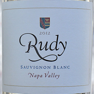 von Strasser Winery 2012 Rudy Napa Valley Sauvignon Blanc 750ml Wine Label