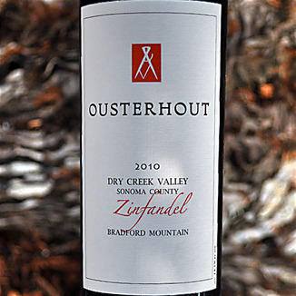Ousterhout Wines 2010 Dry Creek Valley Zinfandel 750ml Wine Label