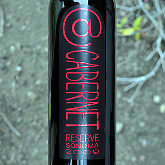 Deerfield Ranch 2009 @Cabernet Sonoma County Reserve 750ml Wine Label