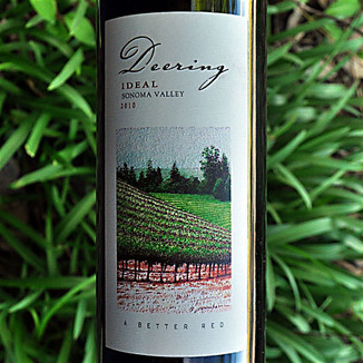 Deering Wine 2010 Ideal Sonoma Valley Red Blend 750ml Wine Label