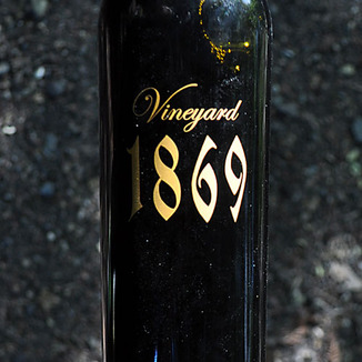 Scott Harvey Wines 2011 Vineyard 1869 Old Vine Zinfandel 750ml Wine Label