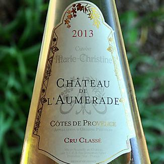 Chateau De L'Aumerade 2013 Cuvee Marie-Christine 750ml Wine Label