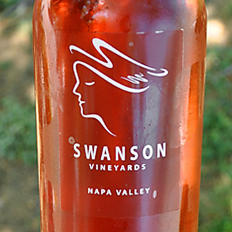 Swanson Vineyards 2013 Napa Valley Rosato 750ml Wine Label
