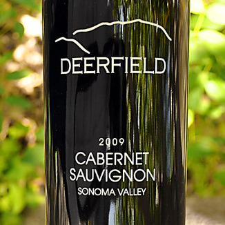 Deerfield Ranch 2009 Sonoma Valley Cabernet Sauvignon 750ml Wine Label