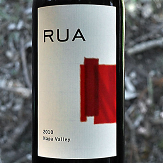 Rua Wines 2010 Napa Valley Red Wine 750ml Wine Label