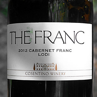 Cosentino Winery 2012 The Franc 750ml Wine Label