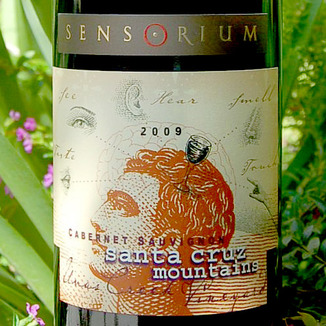 Sensorium Wines 2009 Santa Cruz Mountains Cabernet Sauvignon 750ml Wine Label