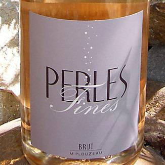 Chateau De La Bonneliere NV Marc Plouzeau Perles Fines Sparkling Brut Rosé 750ml Wine Label