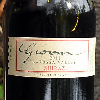 Marschall Groom Cellars 2011 Barossa Valley Shiraz 750ml Wine Label