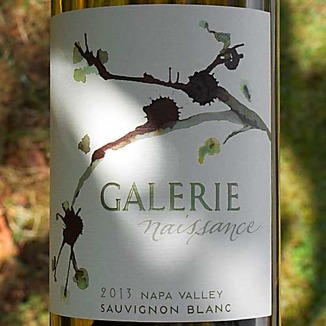 Galerie 2013 Naissance Napa Valley Sauvignon Blanc 750ml Wine Label