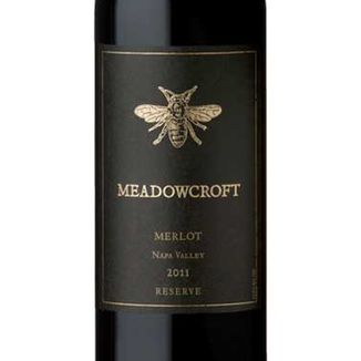Meadowcroft Wines 2011 Napa Valley Reserve Merlot 750ml Wine Label