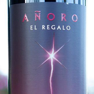Anoro El Regalo 2008 Malbec 750ml Wine Label