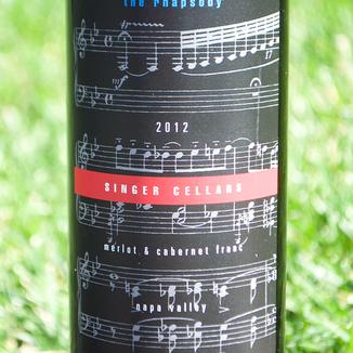 Square label photo