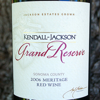 Kendall-Jackson 2006 Grand Reserve Sonoma County Meritage 750ml Wine Label