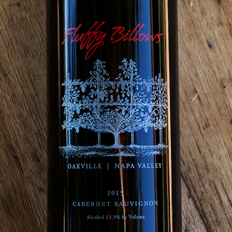 Meyer Family Cellars 2015 'Fluffy Billows' Oakville Napa Valley Cabernet Sauvignon 750ml Wine Label