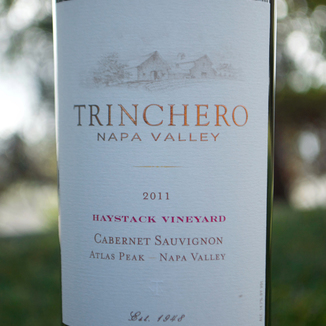 Trinchero Winery 2011 Atlas Peak Cabernet Sauvignon 750ml Wine Label