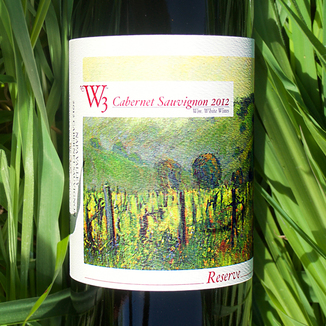 W3 - William White Wines 2012 Reserve Cabernet Sauvignon 750ml Wine Label