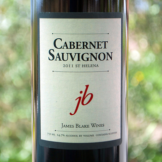 James Blake 2011 St. Helena Cabernet Sauvignon 750ml Wine Bottle