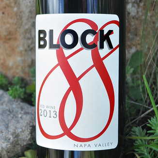 Block 88 Wine 2013 Napa Valley Red Wine 750ml Wine Label