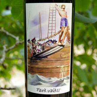 Plank Walker 2012 Napa Valley Meritage 750ml Wine Label