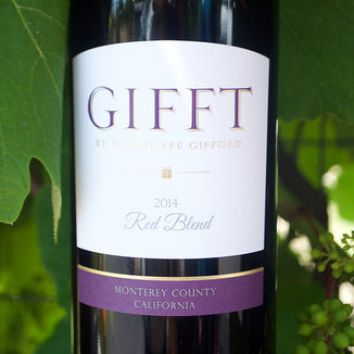 Gifft 2014 Red Blend 750ml Wine Label