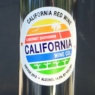 California Wine Co. 2013 Cabernet Sauvignon 750ml Wine Label
