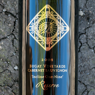 Bugay Vineyards 2008 Incline One-Nine Cabernet Sauvignon 750ml Wine Label