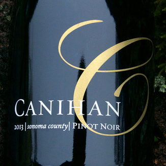 Canihan 2013 Sonoma County Pinot Noir 750ml Wine Bottle