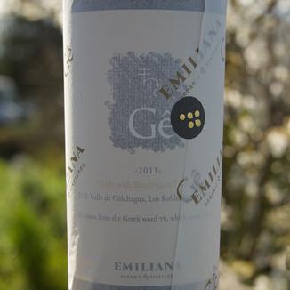Emiliana Organic Vineyards 2011 Gê Red WIne 750ml Wine Bottle