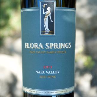 Flora Springs 2013 Napa Valley Red Wine 750ml Wine Bottle