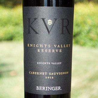 Beringer Vineyards 2012 Knights Valley Reserve Cabernet Sauvignon 750ml Wine Bottle