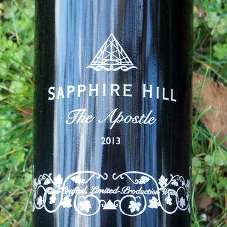 Sapphire Hill 2013 'The Apostle' Alexander Valley Zinfandel Blend 750ml Wine Label