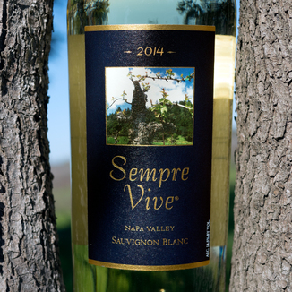 Romeo Vineyards 2014 Sempre Vive Napa Valley Sauvignon Blanc 750ml Wine Label