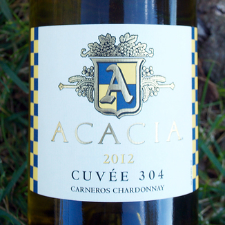 Acacia Vineyard 2012 'Cuvee 304' Carneros Chardonnay 750ml Wine Bottle