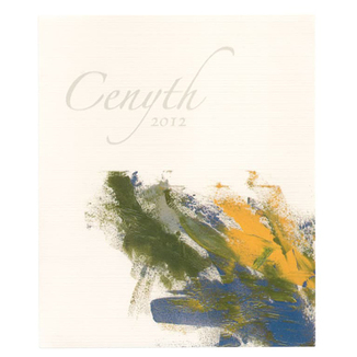 Cenyth 2012 Sonoma County Red Wine 750ml Wine Label