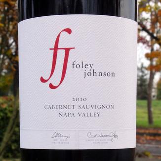 Foley Johnson 2010 Napa Valley Cabernet Sauvignon 750ml Wine Bottle