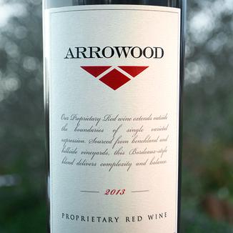 Arrowood Vineyards 2013 Sonoma County Proprietary Red 750ml Wine Label